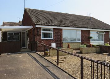 Thumbnail 3 bedroom semi-detached bungalow for sale in Seventh Avenue, Grantham