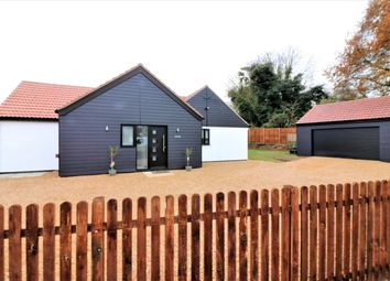 Thumbnail 3 bed detached bungalow for sale in Rushmeadow Road, Dereham