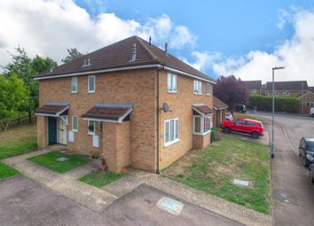 Thumbnail 1 bedroom terraced house for sale in Beaver Close, Eaton Socon, St Neots