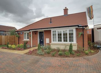 Thumbnail 2 bed bungalow for sale in Mayfield Gardens, Baston, Peterborough