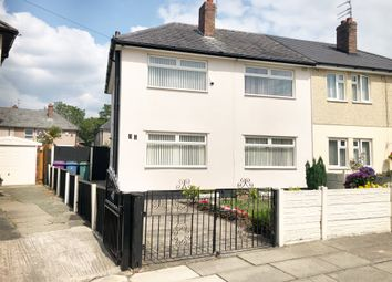 Thumbnail 3 bed semi-detached house for sale in Lowerson Crescent, Liverpool