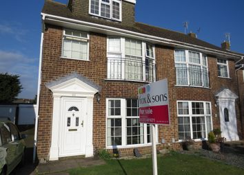 Thumbnail 5 bed semi-detached house for sale in Greenacres, Shoreham-By-Sea
