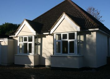 Thumbnail 4 bed detached bungalow to rent in Ash Road, Hartley, Longfield