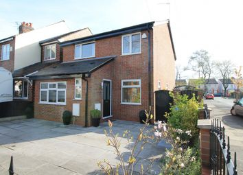 Thumbnail 3 bedroom detached house for sale in The Crescent, Flixton