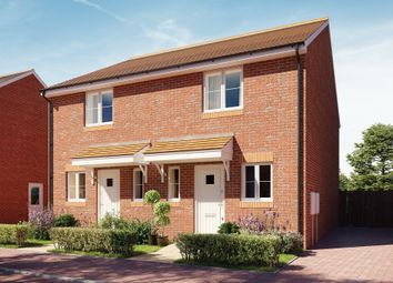 Thumbnail 2 bed semi-detached house for sale in Finkley Down, Andover
