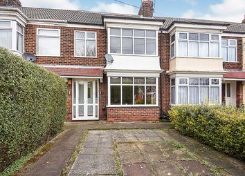 Thumbnail 3 bed terraced house to rent in Sutton Road, Hull