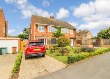 Thumbnail 3 bed semi-detached house for sale in St Andrews Close, Northborough, Peterborough