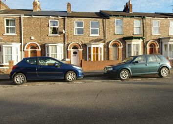 Thumbnail 5 bed terraced house to rent in Nunthorpe Road, York