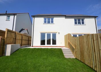 Thumbnail 2 bed semi-detached house to rent in Double White Rise, St Anns Chapel, Gunnislake, Cornwall