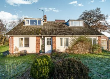 Thumbnail 3 bed detached bungalow for sale in Mill Close, Blofield Heath, Norwich