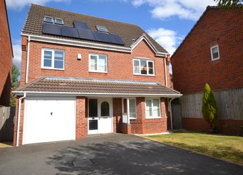 Thumbnail 6 bed detached house for sale in Galingale View, Newcastle-Under-Lyme