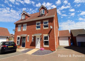 3 bed town house for sale in Tanners View, Ipswich IP1
