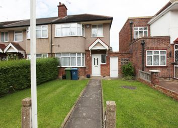 Thumbnail 3 bedroom end terrace house for sale in Leamington Crescent, Harrow