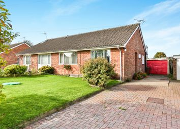 Thumbnail 2 bed semi-detached bungalow for sale in Burgh Lane, Mattishall, Dereham