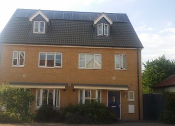 Thumbnail 4 bedroom town house to rent in Juliette Mews, Romford