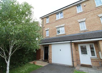 Thumbnail 3 bedroom town house for sale in Campion Road, Hatfield
