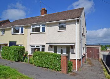 Thumbnail 3 bed semi-detached house for sale in Spacious Period House, Gaer Park Lane, Newport