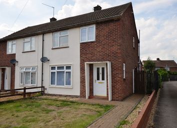 Thumbnail 3 bed semi-detached house to rent in Crocus Grove, Dogsthorpe, Peterborough