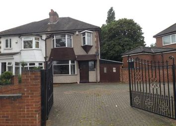 Thumbnail 3 bed semi-detached house for sale in Bromford Lane, Washwood Heath, Birmingham, West Midlands