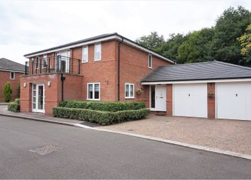 Thumbnail 4 bed detached house for sale in Lavender Walk, Coalville