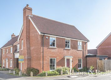 Thumbnail 4 bed link-detached house for sale in Windmill Loke, North Walsham