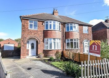 Thumbnail 3 bedroom semi-detached house for sale in Queenswood Grove, York