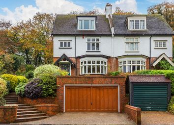 Thumbnail 6 bed semi-detached house for sale in Woodcote Valley Road, Purley