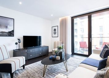 Thumbnail 3 bed flat to rent in Thornes House (The Residence), Charles Clowes Walk, Nine Elms