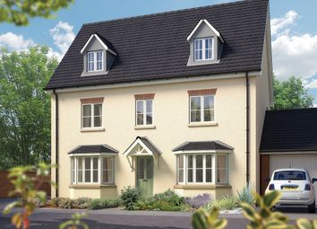 "Thumbnail 5 bed detached house for sale in ""The Stratford"" at Sentrys Orchard, Exminster, Exeter"