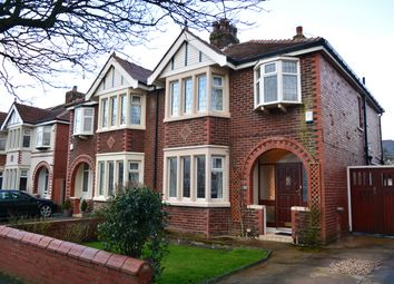 Thumbnail 3 bedroom semi-detached house for sale in Harrington Avenue, South Shore, Blackpool