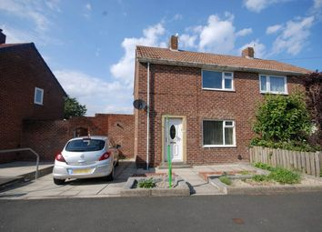 Thumbnail 2 bed semi-detached house for sale in Graham Avenue, Whickham, Newcastle Upon Tyne