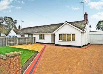 Thumbnail 3 bed semi-detached bungalow for sale in Toll Bar, Great North Road, Sawtry, Huntingdon