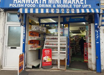 Thumbnail Retail premises for sale in No 187 Hanworth Road, Hounslow