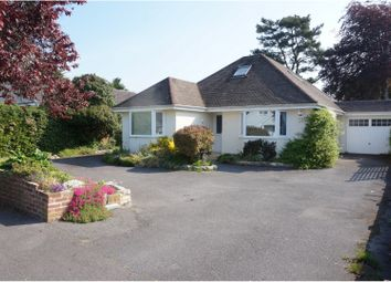 Thumbnail 4 bed detached bungalow for sale in Whitehayes Road, Christchurch