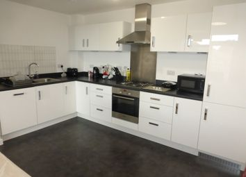 Thumbnail 2 bed flat for sale in Firepool View, Taunton