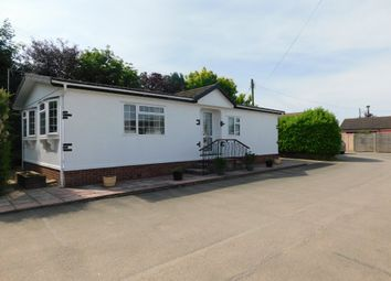 Thumbnail 2 bedroom mobile/park home for sale in Wixfield Park, Great Bricett, Ipswich