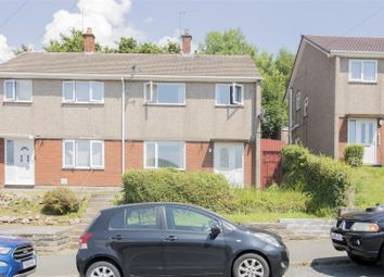 Thumbnail 3 bed semi-detached house for sale in Elm Drive, Risca, Newport