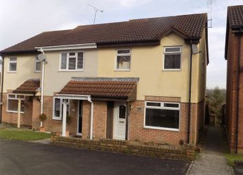 Thumbnail 3 bed end terrace house for sale in Basil Close, Swindon