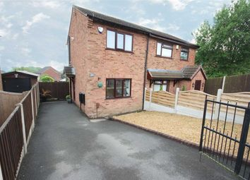 Thumbnail 1 bed semi-detached house for sale in Ledbury Crescent, Birches Head, Stoke-On-Trent