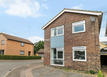 Thumbnail 3 bed detached house for sale in Rosemary Road, Waterbeach, Cambridge