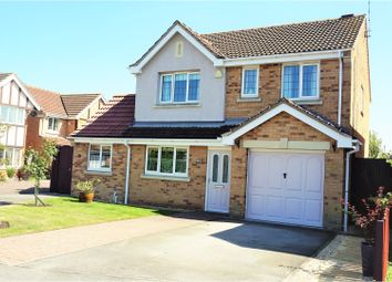 Thumbnail 4 bed detached house for sale in Saucemere Drive, Newark