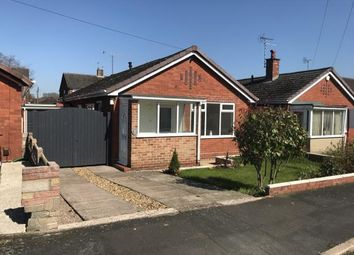 Thumbnail 2 bed bungalow for sale in Fox Grove, Newcastle, Staffordshire