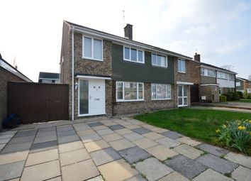 Thumbnail 3 bed property to rent in Windermere Close, Cherry Hinton, Cambridge