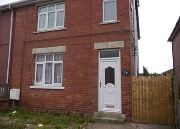 Thumbnail 3 bed semi-detached house to rent in Clinton Street, Worksop