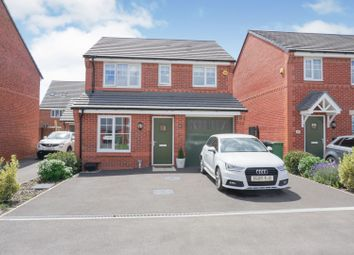 Thumbnail 3 bed detached house for sale in Hayfield Close, Warrington
