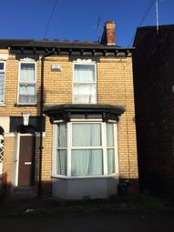 Thumbnail 4 bed end terrace house for sale in Folkestone Street, Hull