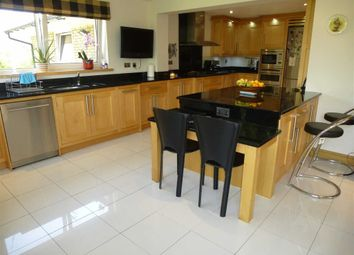 Thumbnail 5 bedroom detached house for sale in Simmondley New Road, Simmondley, Glossop