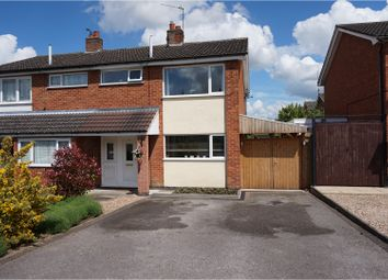 Thumbnail 3 bed semi-detached house for sale in Holyrood Drive, Leicester