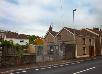 Thumbnail 3 bed detached house for sale in Hebron Road, Clydach, Swansea