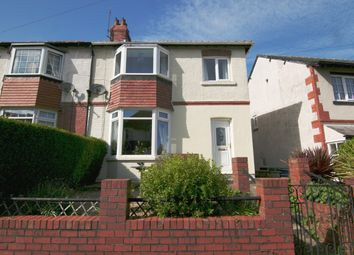 Thumbnail 3 bed semi-detached house for sale in Peasholm Avenue, Scarborough, North Yorkshire